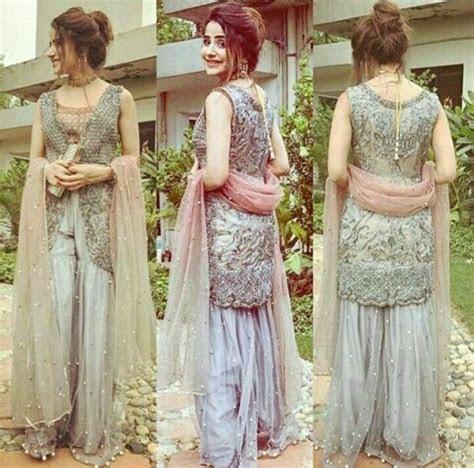 pin  saniya mahmood  lace desingn  kurta dresses