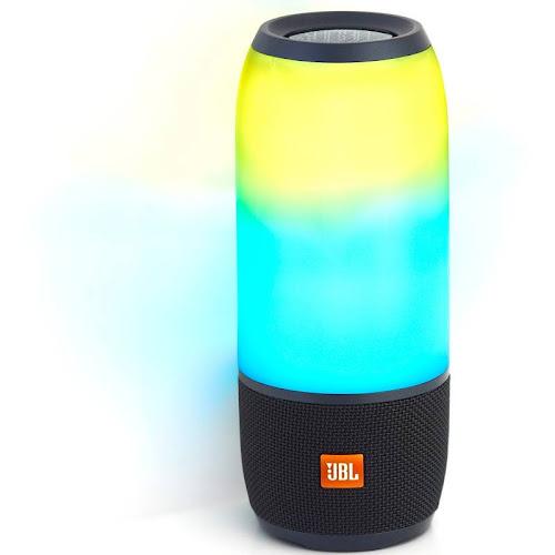 JBL - Pulse 3 Portable Bluetooth Speaker - Black