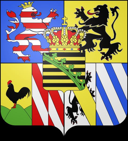 Archivo: Blason Gran Ducado de Sajonia-Weimar-Eisenach.svg