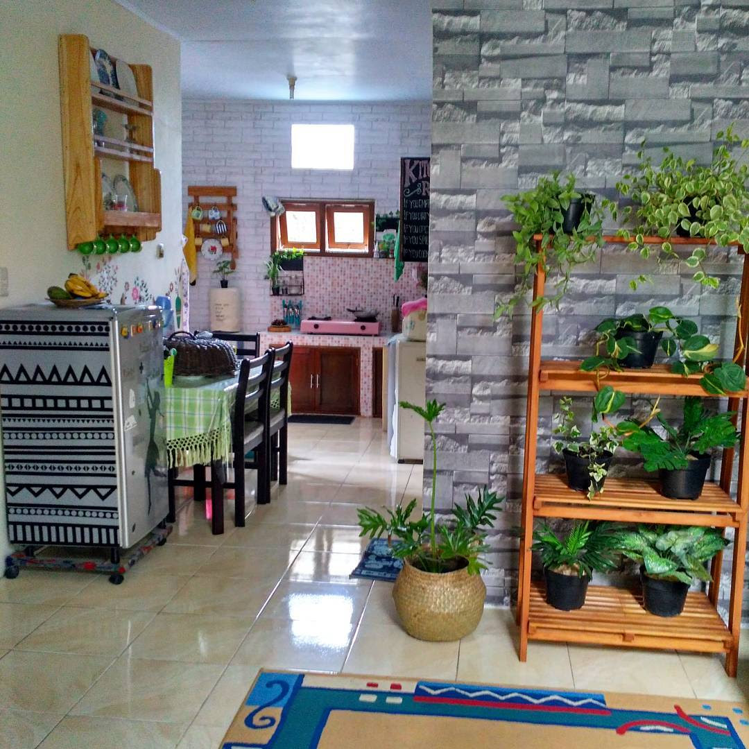 Gambar Desain Ruang Keluarga Dan Ruang Makan Sederhana Interior Rumah