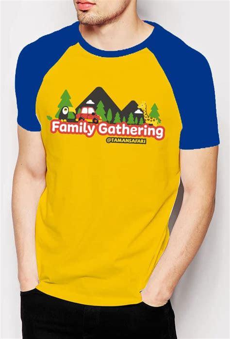 Tulisan Kaos Family Gathering