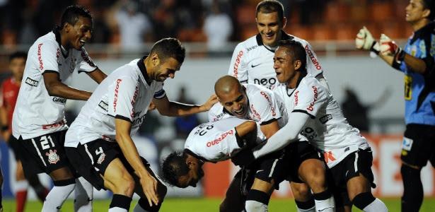 Série de 2012 teve goleada pela Libertadores. Na ocasião, até Liedson deixou sua marca no Pacaembu