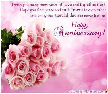 My best wishes for you on your anniversary! Love you