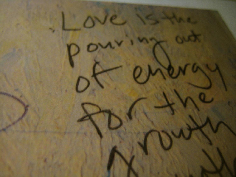 Bathroom Graffiti Wisdom Card