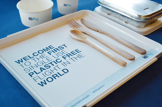 Portuguese airline Hi Fly has world's first 'plastic-free' flight: 'It's the right thing for the airline to be doing'