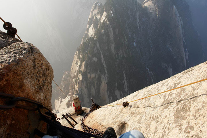 Image result for China's Mount Hua skywalk