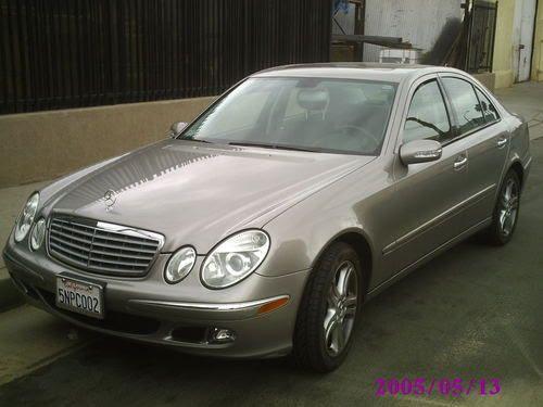 Purchase used 2005 Mercedes-Benz E500 500E Silver/gray in ...