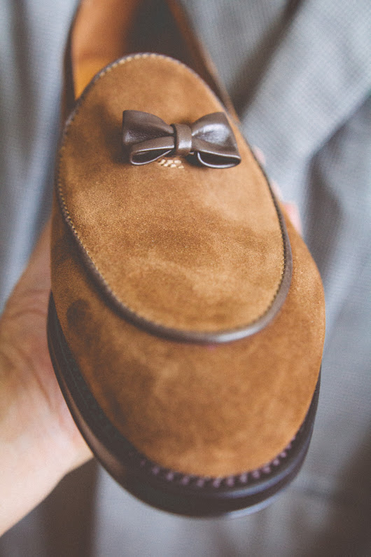 Broke and Bespoke | My wife bought me these shoes for my birthday, and...