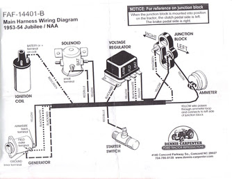1953 Ford Jubilee Tractor Wiring Diagram Free Picture Gota Wiring Diagram