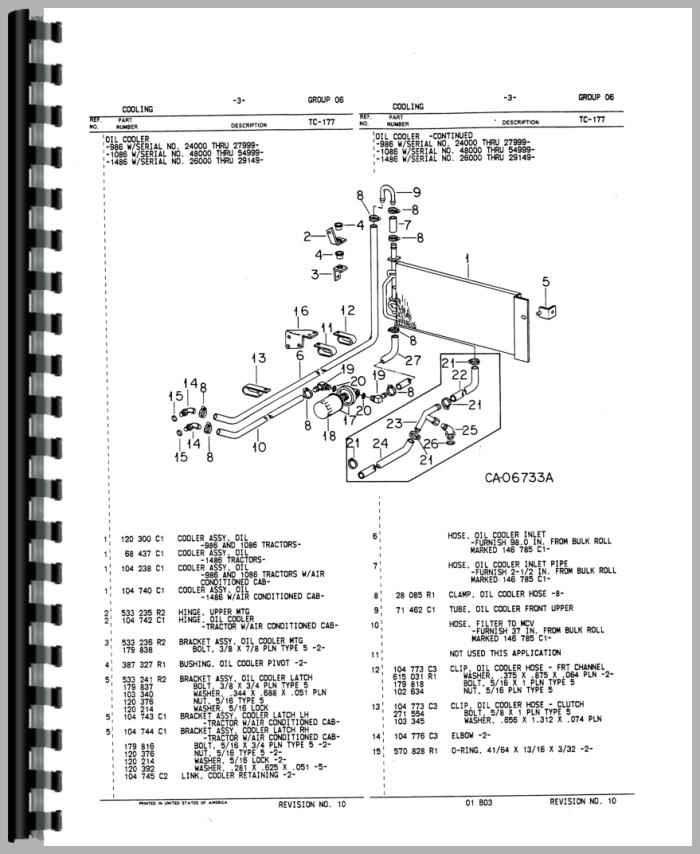 30 1086 International Hydraulic Diagram