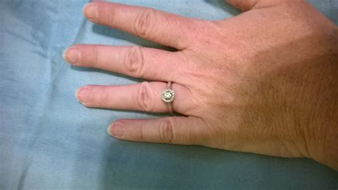 Anyone with small stone engagement rings?