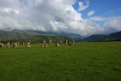 Castlerigg Stone Circle and Blue Sky!