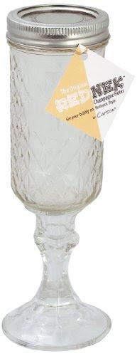 The Original RedNek Champagne Flutes (Set of 2)