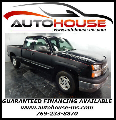 Used 2004 Chevrolet SILVERADO 1500 for Sale in Florence MS 39073 Autohouse