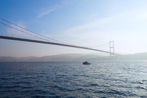 Ponte de Bósforo, Istambul, Turquia. Foto: Nella / Shutterstock.com