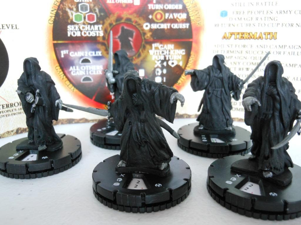 The Lord of the Rings: Nazgul pieces