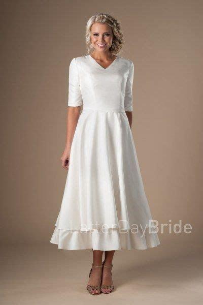 1358 best Modest Wedding Dresses images on Pinterest