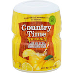 Country Time Drink Mix, Lemonade - 19 oz canister