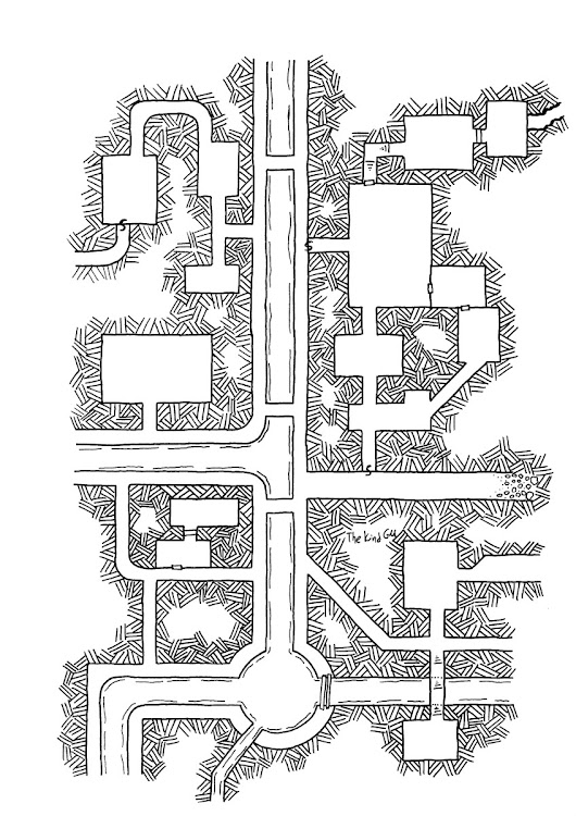 Map – Sewers of Kosais