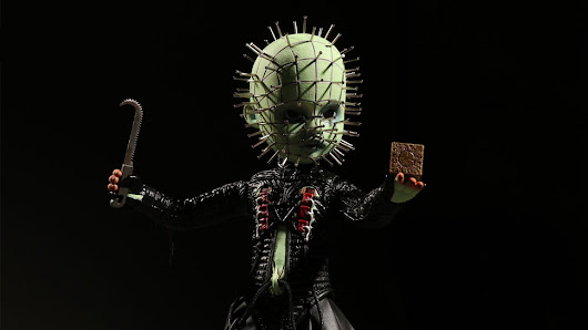 New HELLRAISER, EVIL DEAD, and BEETLEJUICE Toys Are Horrifyingly Cute | Nerdist