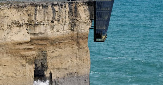 Cool Houses Clinging To Cliffs To Take In All The Beauty