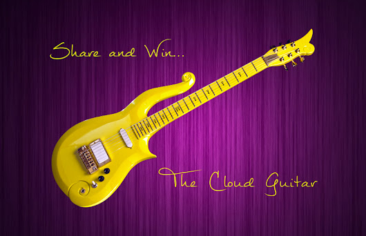 I Just Entered a Contest 2 Win an Authentic Cloud Guitar!