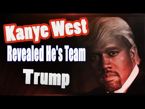 Fans Booed Kanye West when Revealed He's Team Trump
