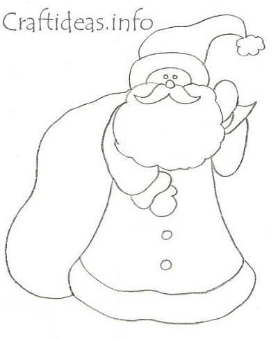 Santa Claus Templates.