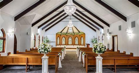 Melbourne Wedding Chapel Ceremony   Ballara Wedding Receptions