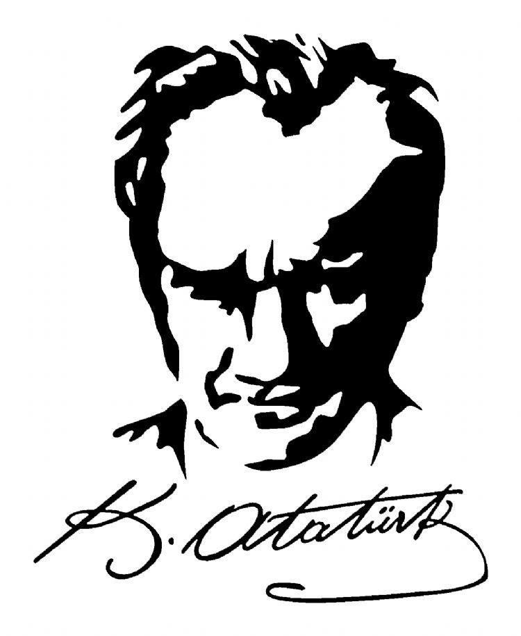 Atatürk Boyama Sayfası 14 40dk Eğitim Bilim Kültür Sanat