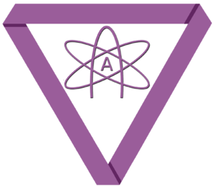 The symbol for the American Atheists group (&q...