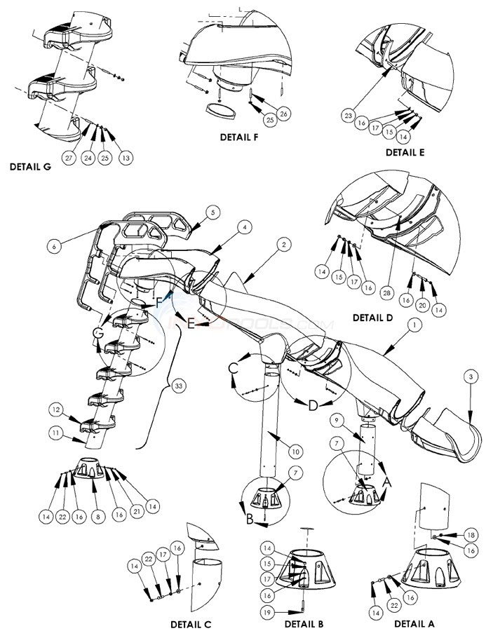 Parts Of A Stream Diagram