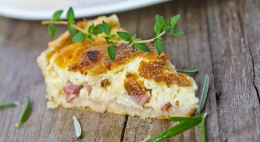 "How to cook ""la quiche aux lardons"" (Bacon Quiche) - TripUSAFrance"