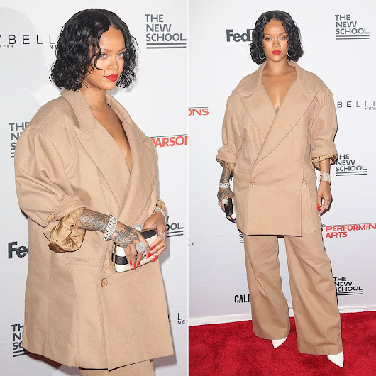 Rihanna at Parsons School of Design Benefit - Haus of Rihanna