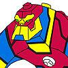Süper Kahraman Boyama Oyunu