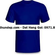 Áo thun cổ tròn xanh bích thân trước kết hợp với nhiều kiểu dáng, màu sắc  DQ Fashion là nhà sản xuất áo thun, đồng phục uy tí