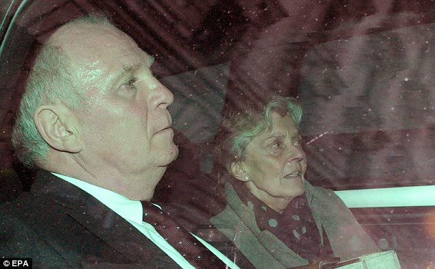 Behind bars: Former Bayern President Uli Hoeness was jailed for tax evasion in the week