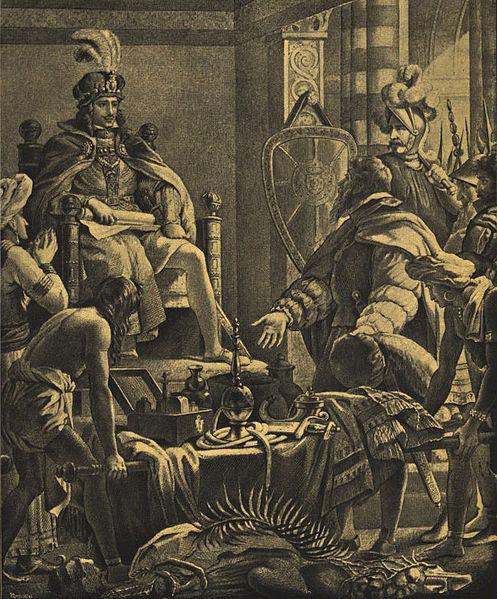 Ficheiro:Vasco da Gama apresenta a D. Manuel as primícias da Índia.jpg