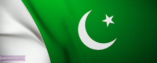 Pakistani Flag FB Banner Photo