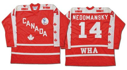 WHA Team Canada 1976 All-Star jersey