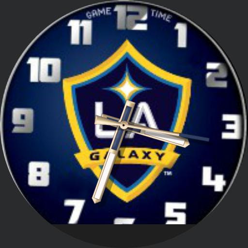 LA GALAXY KIDS ROKIE - WatchMaker for Android Wear, iPhone, Samsung Gear S2 & S3, Huawei, Moto 360, LG G Series!