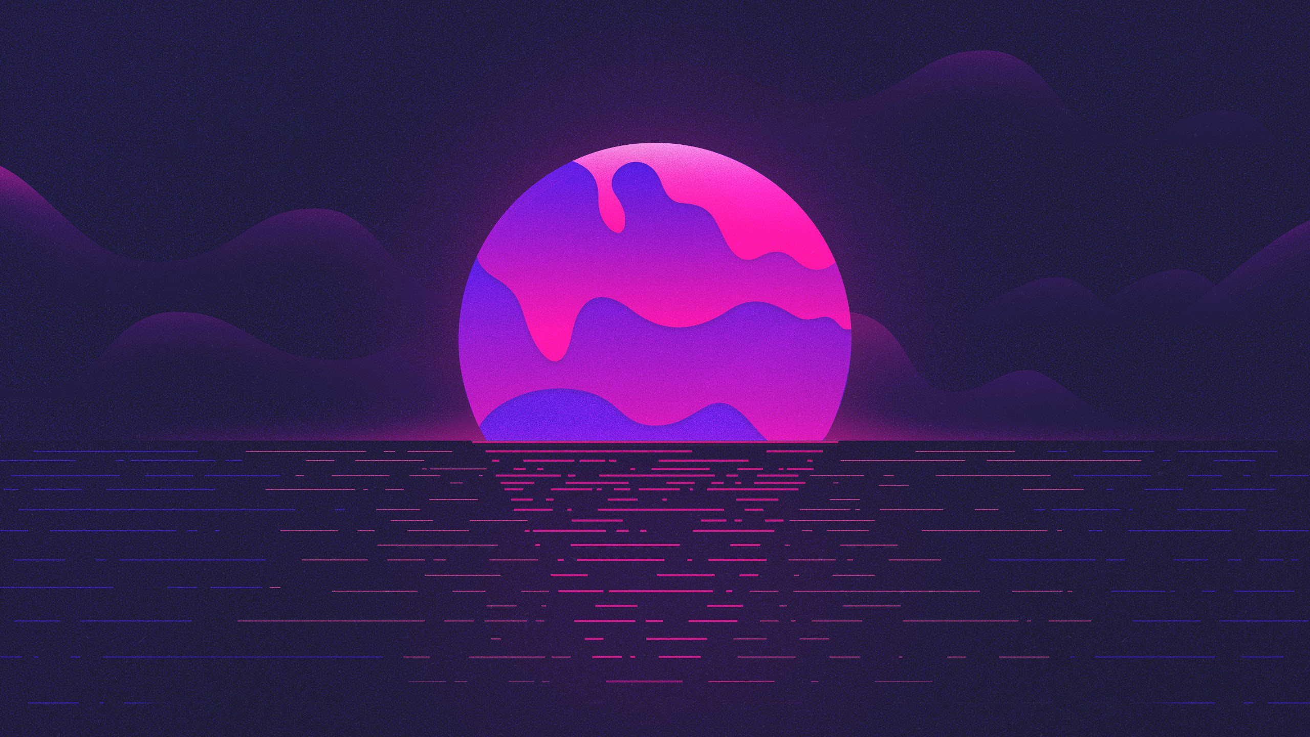 Purple Moon Wallpapers Hd Wallpapers