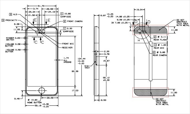 Free Apple Posts Detailed IPhone 5s 5c Schematics Online