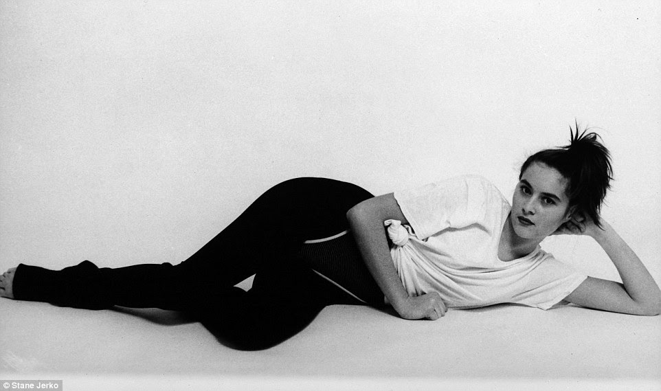 Big break: Stane Jerko discovered the beauty in 1987at a modeling contest and asked if he could take some pictures of her