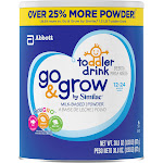 Go & Grow by Similac Milk-Based Toddler Drink, Powder, 30.8 oz