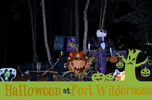 What to Expect at Fort Wilderness Halloween - Suitcases and Sippy Cups