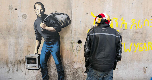 Banksy's Steve Jobs Mural Misses the Point About Refugees