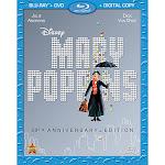 Mary Poppins, 2-Disc [Blu-ray+DVD+Digital Copy]