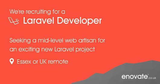 Mid-level Laravel/PHP Developer | Careers | About Us | Enovate