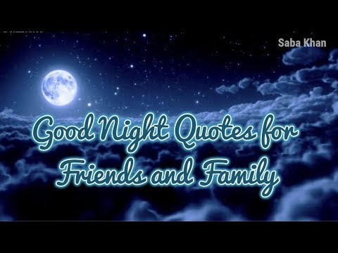 Good Night Quotes Save From Youtube